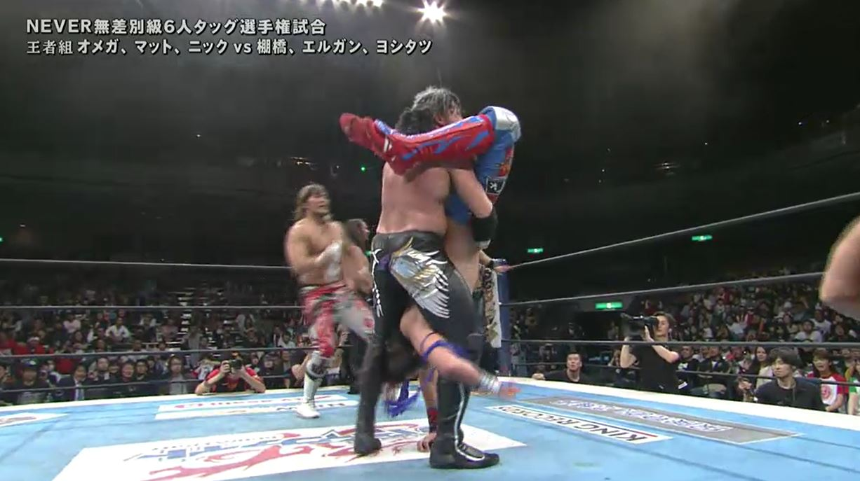 Kenny OMega tries to h...